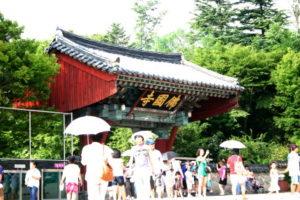 佛国寺の入り口