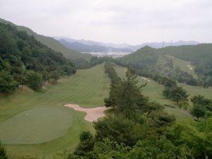 韓国側の企業が、保有するゴルフ場のホテルから