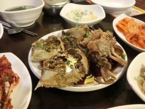 珍味・カンチャン・ケジャン、韓国は、ワタリをこう食べる^