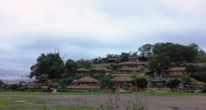 民族村の雰囲気